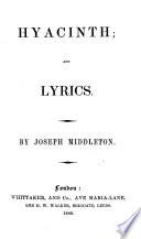 Hyacinth  a poem   and lyrics