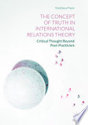 The Concept of Truth in International Relations Theory