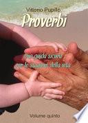 Proverbi   Una guida sicura per le stagioni della vita