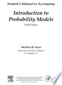 Introduction to Probability Models  Student Solutions Manual  e only