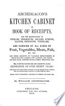 Archdeacon's Kitchen Cabinet