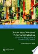 Toward Next Generation Performance Budgeting