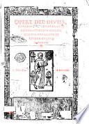 Opere del diuino poeta Danthe con suoi comenti  recorrecti et con ogne diligentia nouamente in littera cursiua impresse