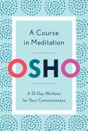 A Course in Meditation Pdf/ePub eBook