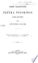 Historya języka polskiego