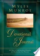 Myles Munroe Devotional   Journal