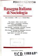 Rassegna Italiana di Sociologia