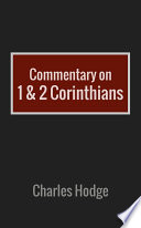 Commentary On 1 2 Corinthians