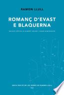 Roman   d Evast e Blaquerna