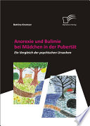 """Anorexie und Bulimie bei M""""dchen in der Pubert""""t"""