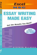 Excel Hsc Essay Writing Made Easy
