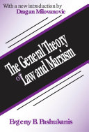 download ebook the general theory of law and marxism pdf epub