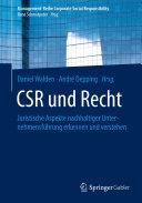 CSR und Recht