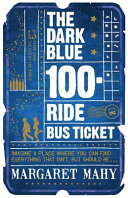 Dark Blue One Hundred ride Bus Ticket Book PDF