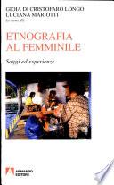 Etnografia al femminile. Saggi ed esperienze