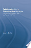 Collaboration in the Pharmaceutical Industry