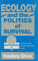 Ecology and the politics of survival