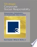 Strategic Corporate Social Responsibility