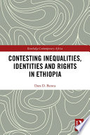 Contesting Inequalities Identities And Rights In Ethiopia