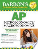 Barron s AP Microeconomics Macroeconomics