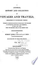 illustration du livre A General History of Voyages and Travels to the End of the 18th Century
