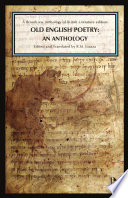 Old English Poetry: An Anthology