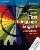 Cambridge IGCSE First Language Coursebook
