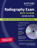 Kaplan Radiography Exam with CD ROM