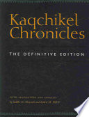 Kaqchikel Chronicles