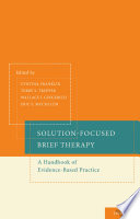 Solution Focused Brief Therapy Book PDF