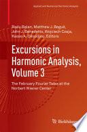 Excursions in Harmonic Analysis  Volume 3