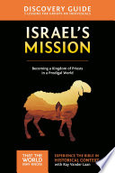 Israel s Mission Discovery Guide