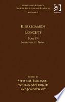 Volume 15, Tome IV: Kierkegaard's Concepts