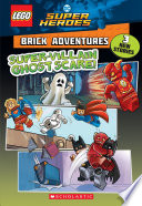 Super Villain Ghost Scare Lego Dc Comics Super Heroes Brick Adventures