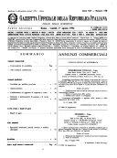 Gazzetta ufficiale della Repubblica italiana  Parte seconda  foglio delle inserzioni
