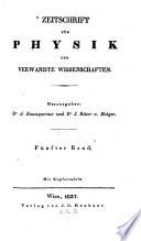 Zeitschrift f  r Physik und verwandte Wissenschaften