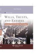 Wills, Trusts, and Estates
