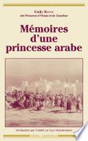 M  moires d une princesse arabe
