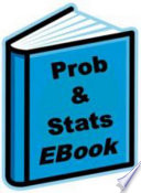 Probability and Statistics EBook