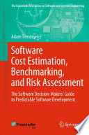 Software Cost Estimation  Benchmarking  and Risk Assessment