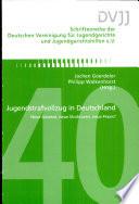 Jugendstrafvollzug in Deutschland
