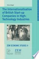 The Internationalisation of British Start up Companies in High Technology Industries