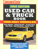 The 2002 Used Car And Truck Guide
