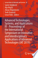 Advanced Technologies Systems And Applications Iv Proceedings Of The International Symposium On Innovative And Interdisciplinary Applications Of Advanced Technologies Iat 2019