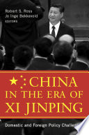 China in the Era of Xi Jinping