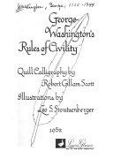 Washington s Rules of Civility