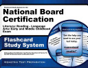 Nbpts Literacy  Reading   Language Arts  Early and Middle Childhood Flashcard Study System