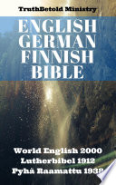 English German Finnish Bible