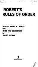 Roberts Rule of Order