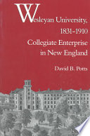 Wesleyan University 1831 1910 book